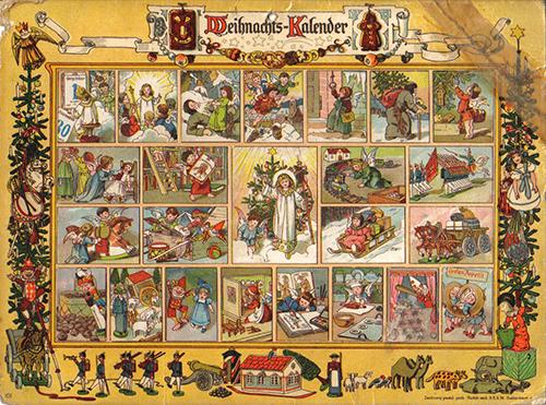Tysk julekalender fra 1903