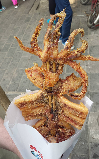 Tiarmede blæksprutter er et smukt koncept.
