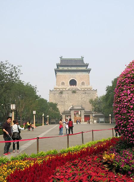 Bell Tower med Blomster.