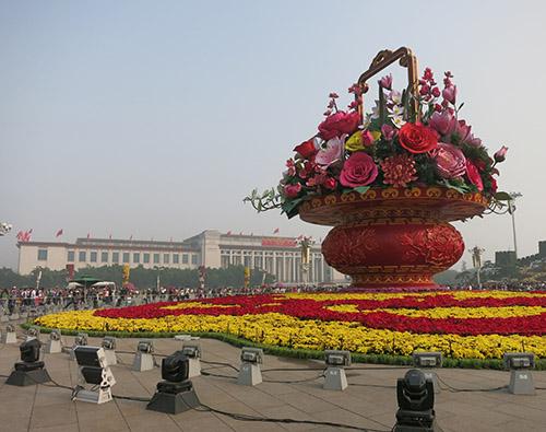 Den Himmelske Freds Plads (Tian'anmen).