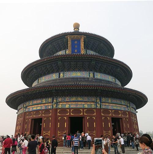 Et Tempel dedikeret til DEn Gode Høst