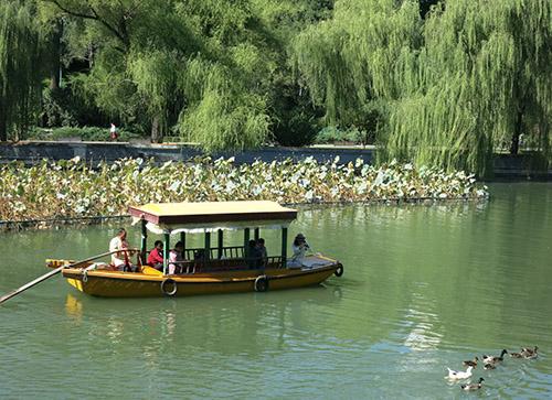 Beihai park - det koster 20 ¥ (ca 20 kr) at komme ind, og det er pengene værd.