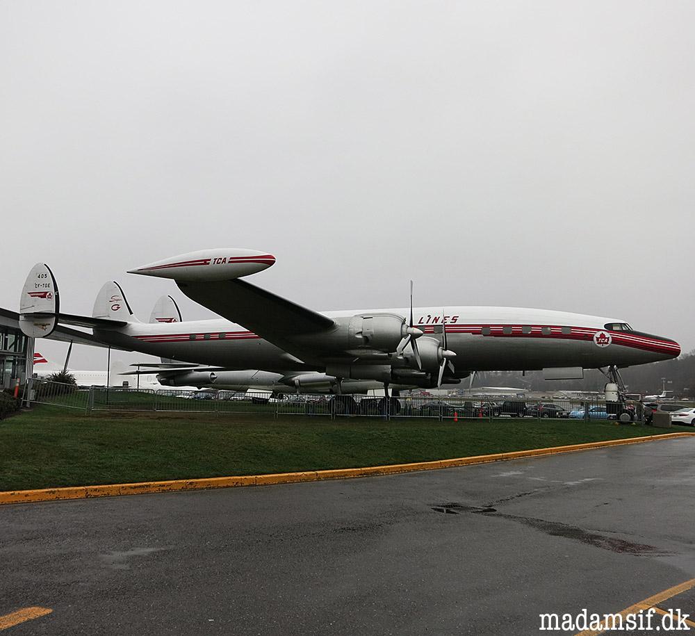 Mit fly det har tre haler...