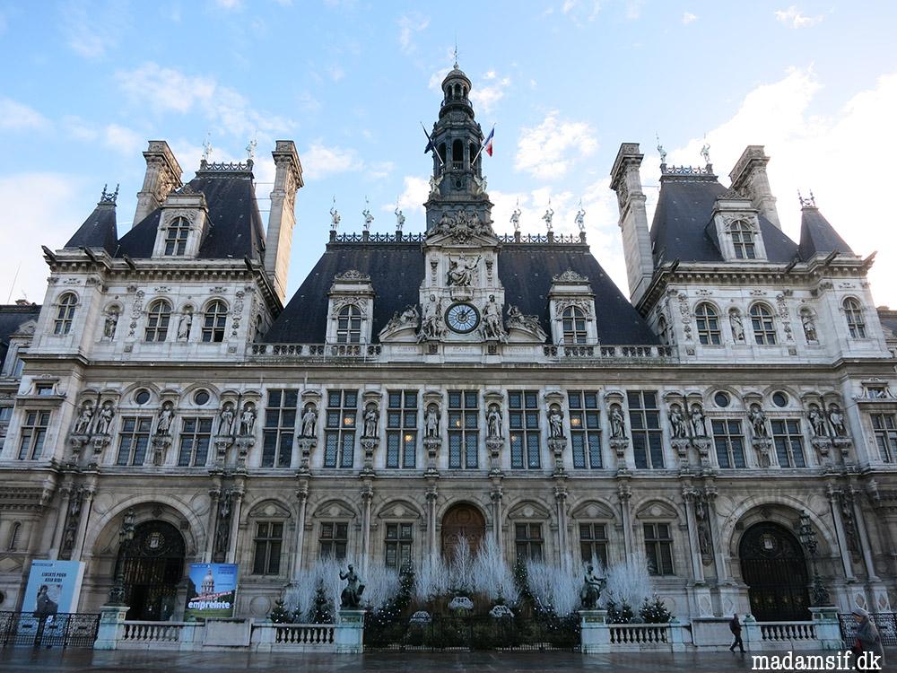 Hôtel de Ville, Paris.