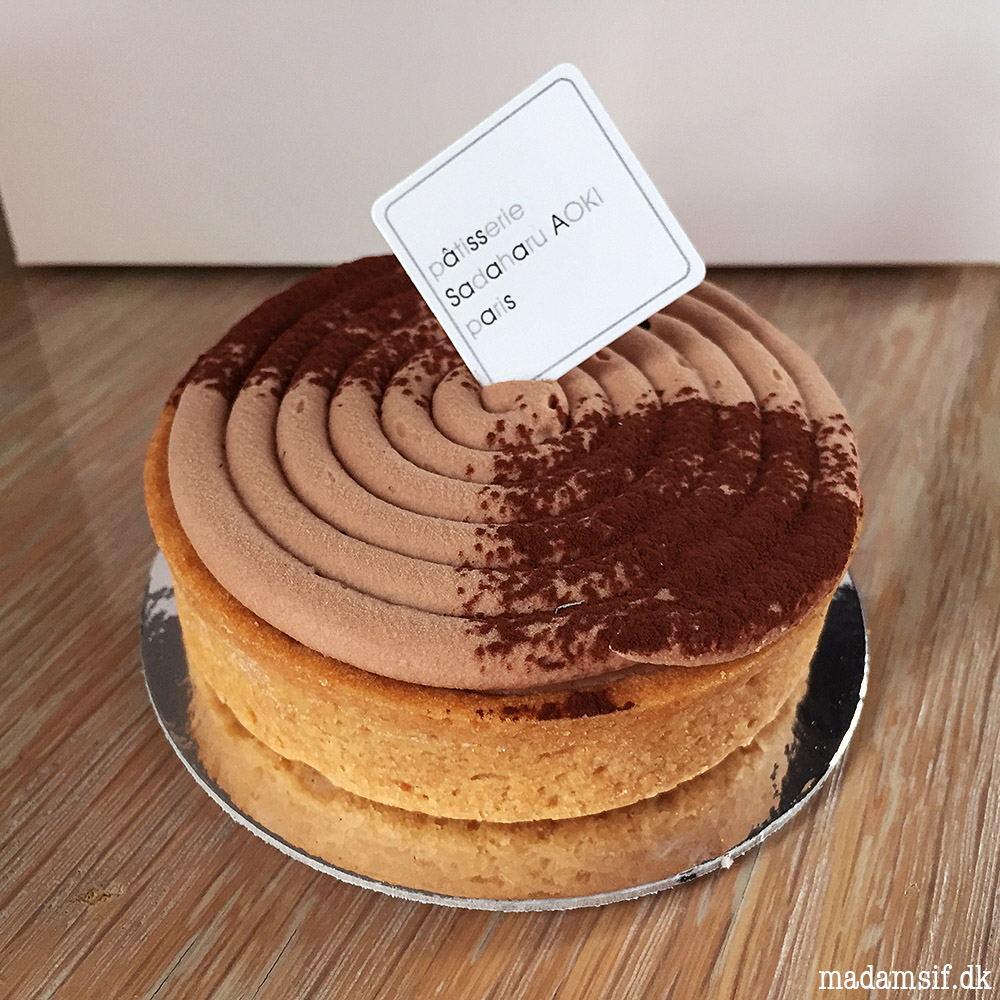 Sadaharu Aoki - Tarte Caramel Salé