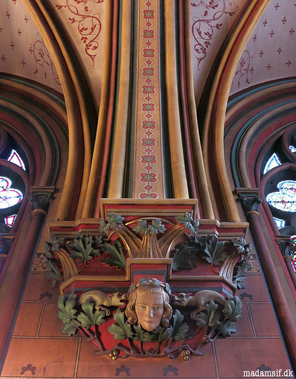Notre-Dame de Paris, detalje.