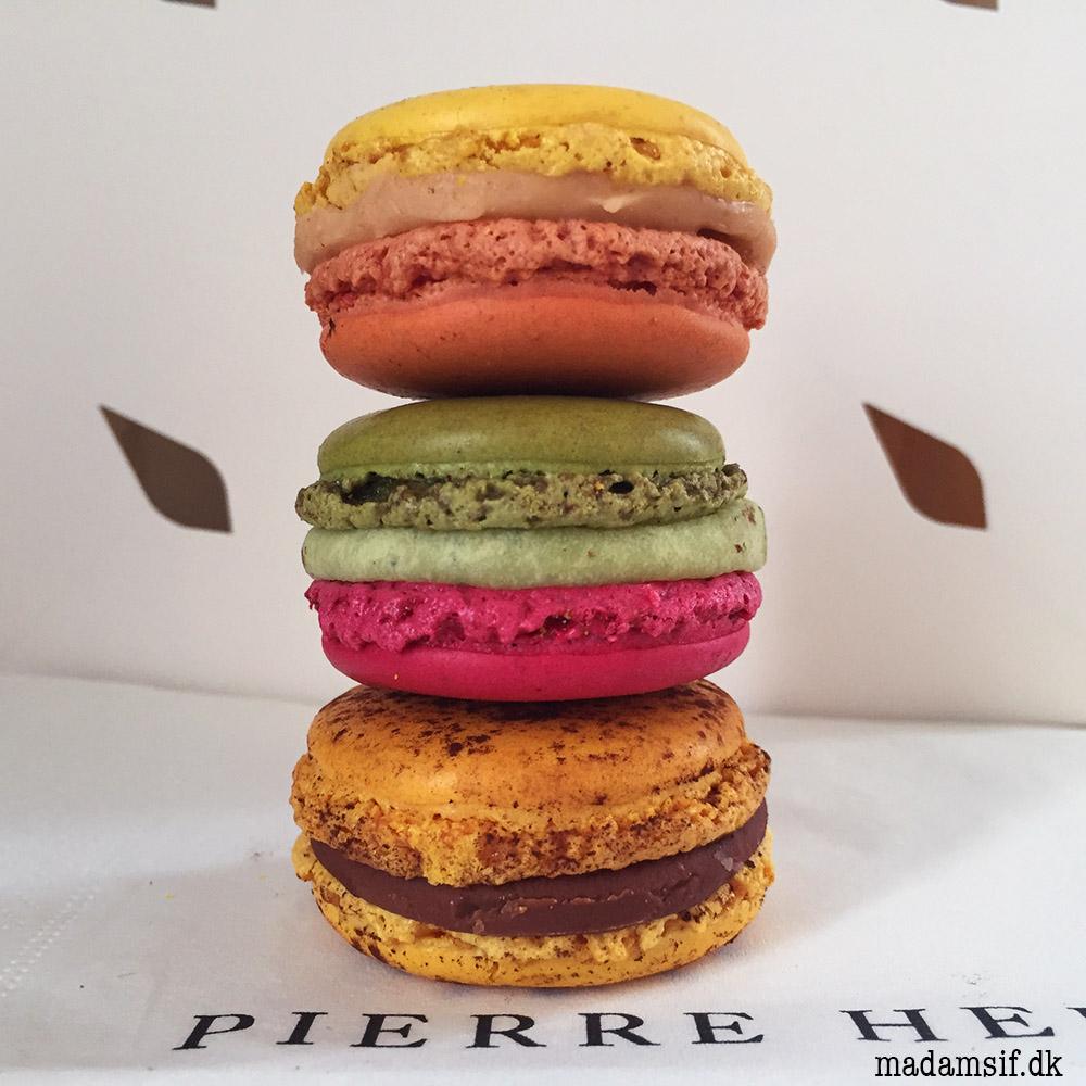 Pierre Hermé macarons - Jardin Pamplemousse, Montobello og Mogador