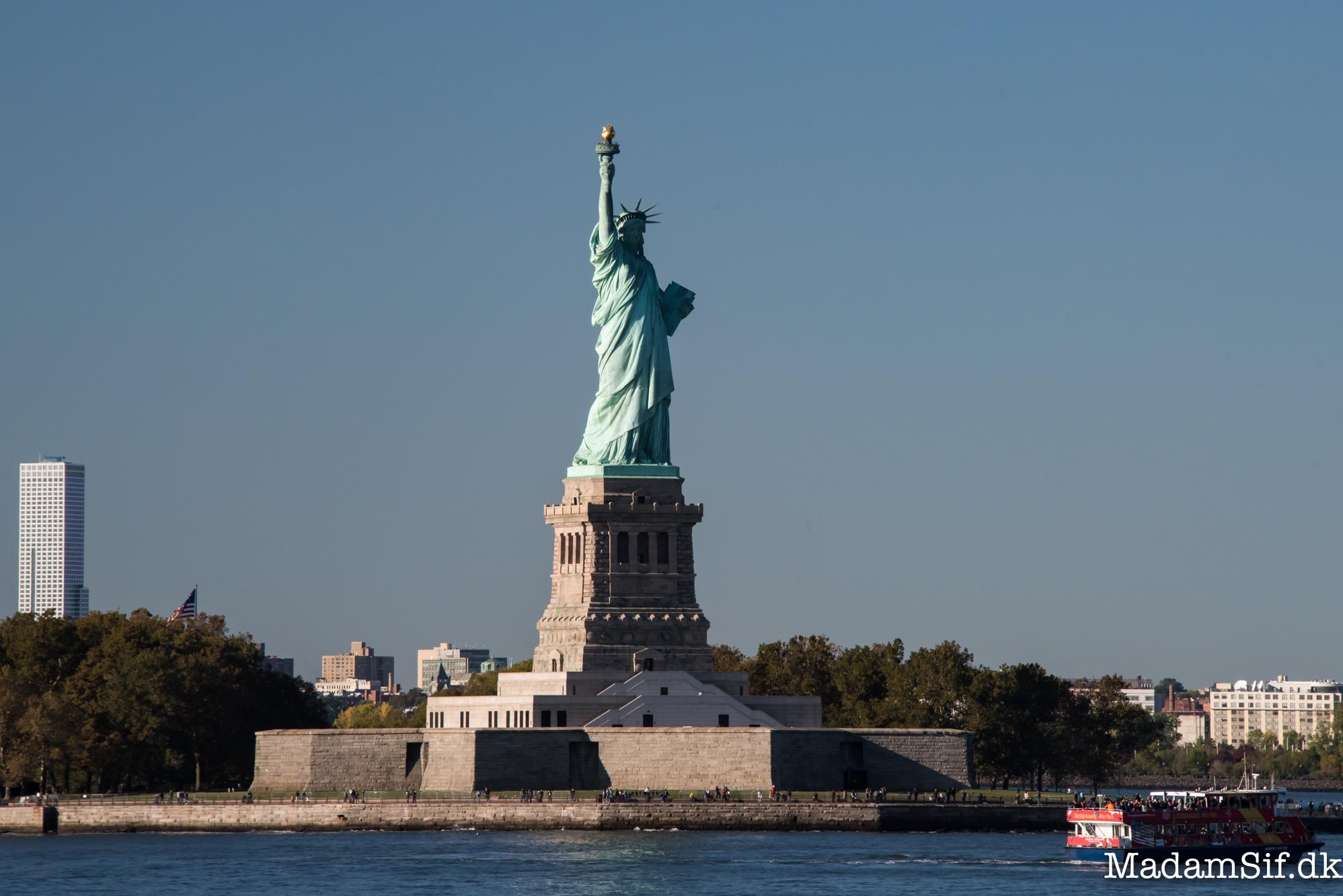 Frihedsgudinden - Lady Liberty.