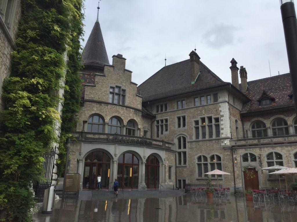 Landesmuseum i Zürich.