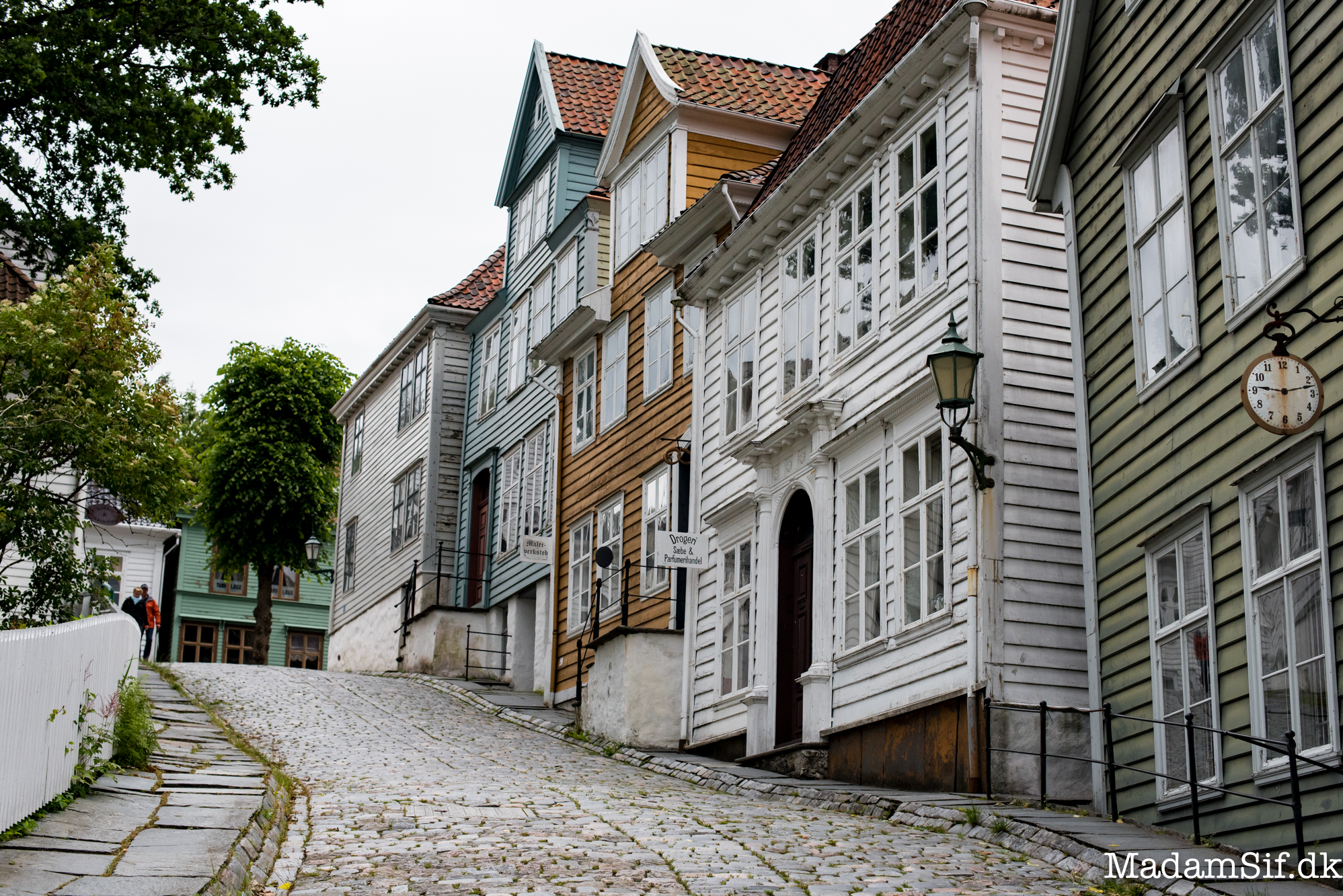 Gamle Bergen - ej for gangbesværede.